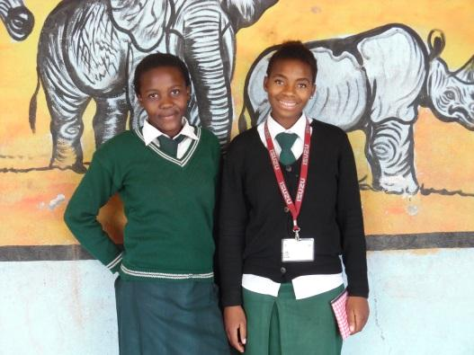 Zippora and Clarissa who told us they had started their education at the school and had now moved on to the Chamba Valley High School